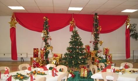 Weihnachtsfeier Wepa